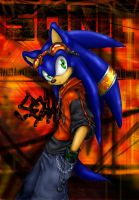 SoNiC_the_hedgehog by nocturnalMoTH