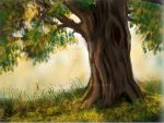 Painted Tree by jcastle316