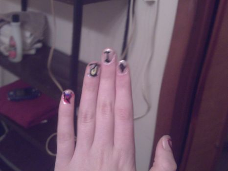 Finger Nails! - All by hand. by Fantachi