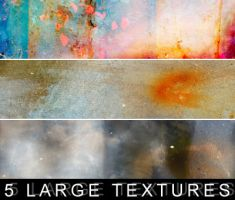 5 large textures. by Kiho-chan
