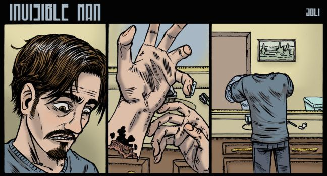 Invisible man short strip by jolimint
