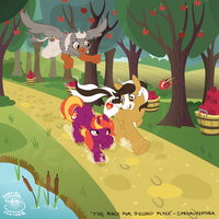 The Race for Second Place by SpatialHeather