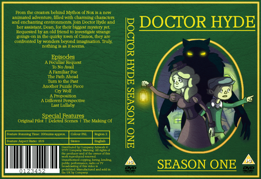 Doctor Hyde DVD Cover by BarnarnarBunny