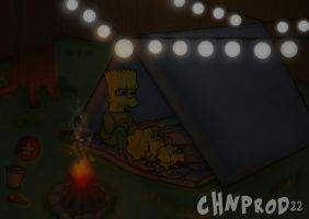 Simpson Kids Camping by ChnProd22