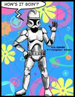 CLONE TROOPER MAN by Hapo57
