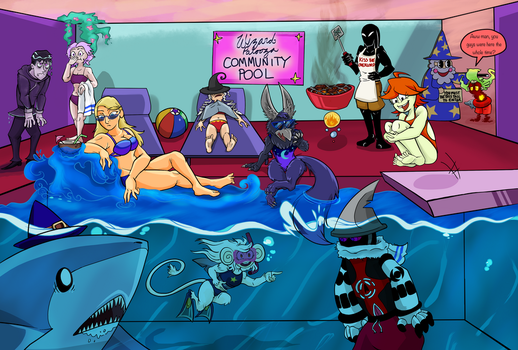 WPOCT - Pool Party Pt. 3 by Silverladon