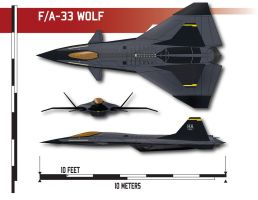F/A-33 Wolf by Afterskies