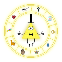 Bill Cipher's Circle by Never0ff