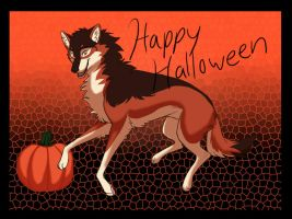 Happy Halloween by wolfpup026
