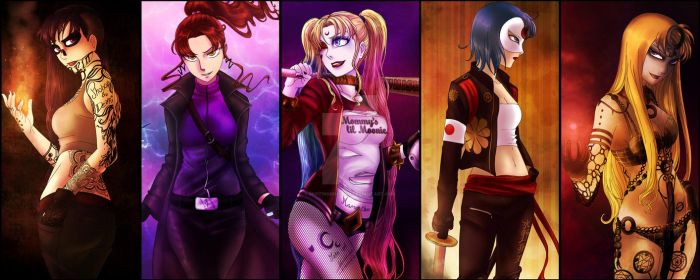 SAILOR SQUAD by MuffinMonstah