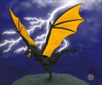 Thunder Dragon by -coldfusion-