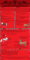 Japanese Dragon Horse BSheet by Utakame