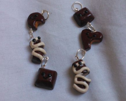 Chocolate Clay Charms! by Gemmilou