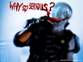 Why so serious, Comedian? by PortalComic