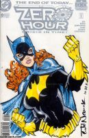 Zero Hour cover Batgirl by ToddNauck