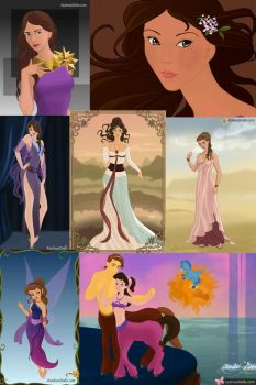 The Many Faces of Megara by ZeldaQueen64