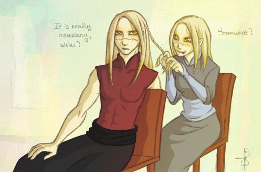 Nuada and Nuala :: 077 What? by PrinceNuadaProject