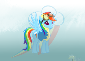 Permission for take off Ma'am?! by sunset-haste