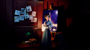 BioShock Infinite - Elizabeth, first saw. by Nylah22