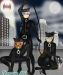 Three Catwomen by DannimonDesigns