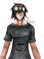 Second attempt to colour with watercolours... by Kizoku-Shinai