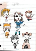 Chibi Page Coloured by faither1382