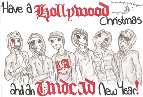Hollywood Undead Fanart by EverlastingGir