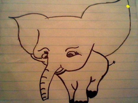 an elphant by jacqui1821