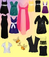 Dress Brushes 2 by B-SquaredStock