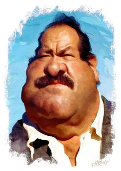 William Conrad by wooden-horse
