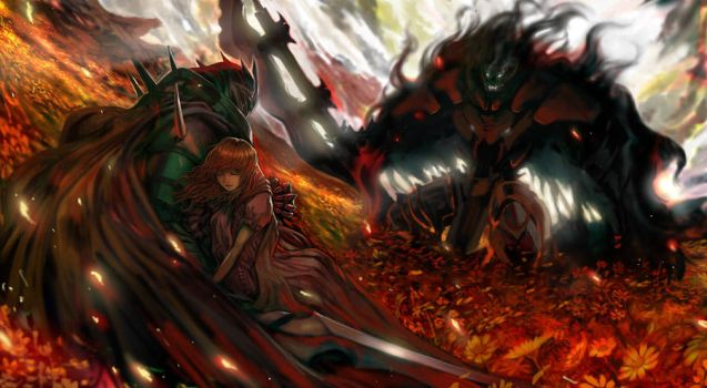Last Yggdrasil'Flame at End' by DigitalOme