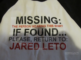 My 30STM gig shirt by gisellam