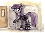 Canterlot High - The Goth by sophiecabra