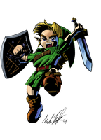 Majora's Mask by AnimationGeek101