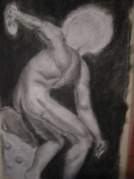 The Discus Thrower by xPsYk0x