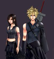 Cloud and Tifa by EErieFaery on DeviantArt  Final Fantasy Cloud And Tifa Fanfiction