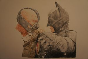 Batman Bane - work in progress 8 by TBabing