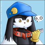 Klonoa's A-thinking by LadyOfSodas