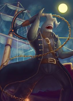 Captain Shark by pigben86