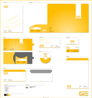GE Entertainment Corporate ID by qdstudios