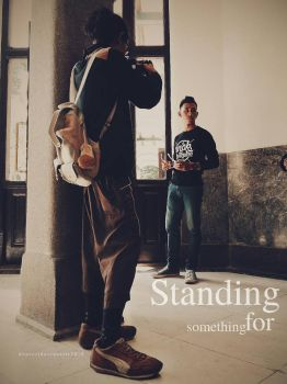 Standing for Something  by dhurzz