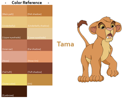 TLK Tama Color Reference by FeralHeartsFan