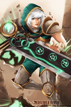 LoL: Redeemed Riven by betrayal-and-wisdom