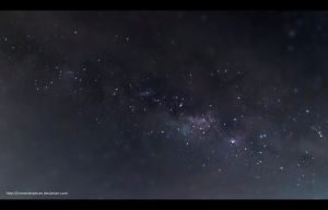 milky way by Jimmasterpieces