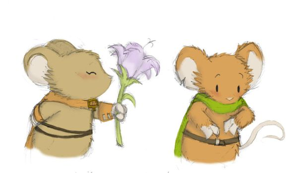 Flower by SteamMouse