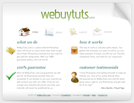 WeBuyTuts.com by screamoXcore