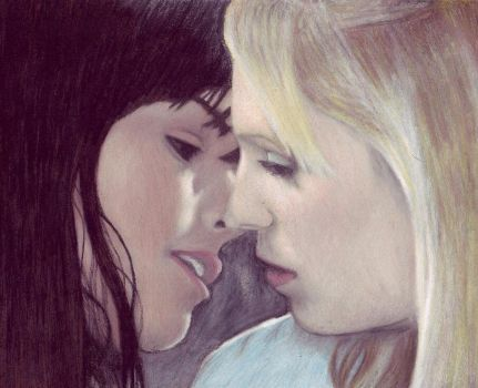 Lucy and Amy by shdwdancr