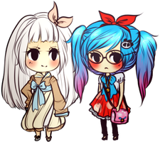 chibis because its been too long by dancemove