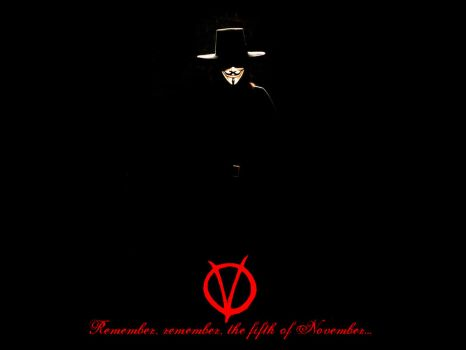 V For Vendetta by Hisan