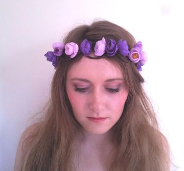 Dreaming of Paradise Floral Flower Crown / Wreath by paradiseshoretwins